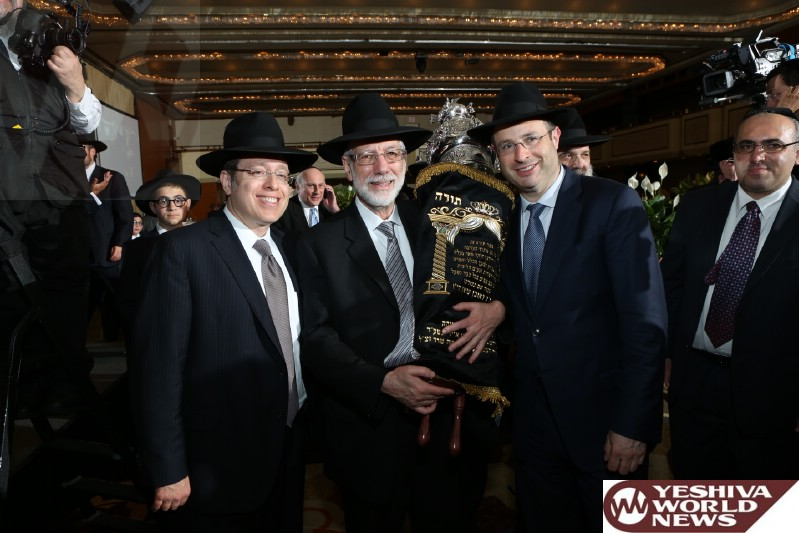 VIDEOS & PHOTOS: Strong Attendance At Agudath Israel Of America's Annual Dinner