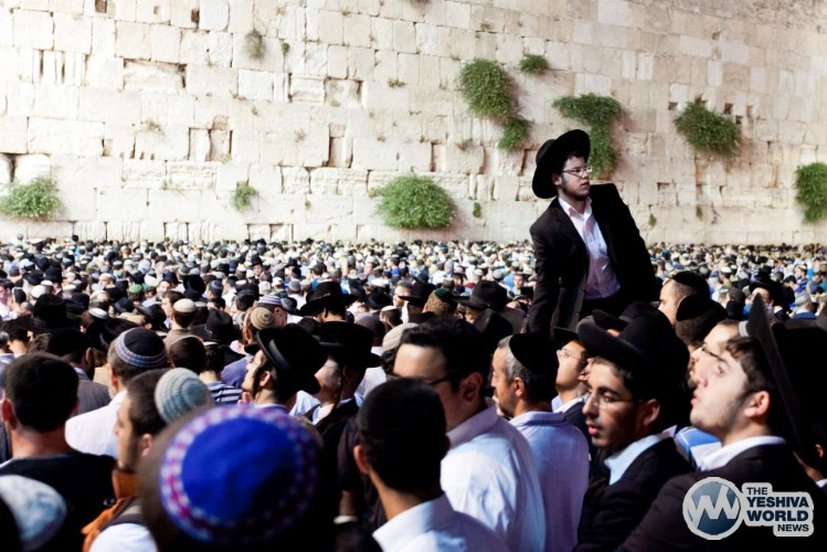 Atzeres at Kotel For Kidnapped Boys - Kuvien Images ---011