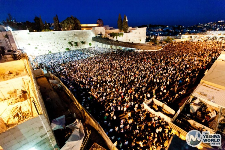 Atzeres at Kotel For Kidnapped Boys - Kuvien Images ---020