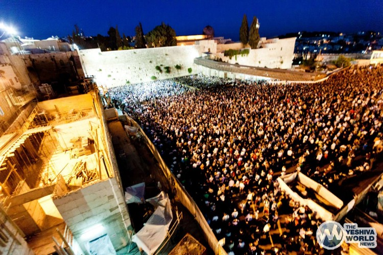Atzeres at Kotel For Kidnapped Boys - Kuvien Images ---021