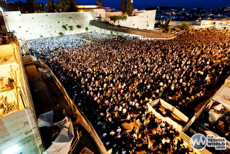 Atzeres at Kotel For Kidnapped Boys - Kuvien Images ---022