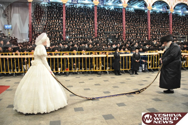 Tonight: Chasanah of the Belzer Rebbe's Granddaughter