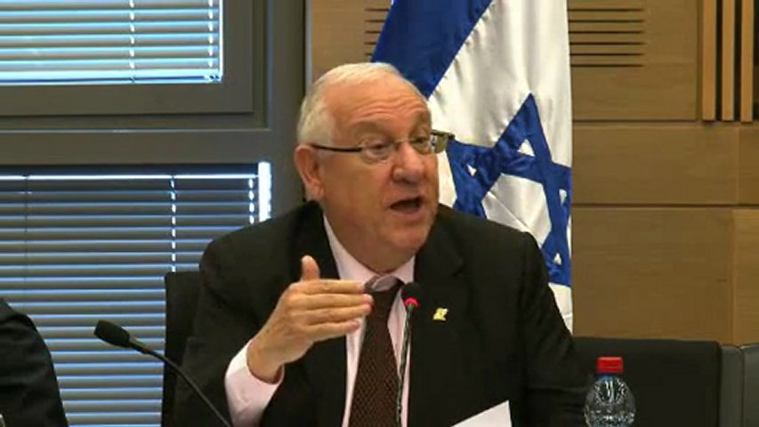 President Rivlin's Address at Opening of Knesset Winter Session