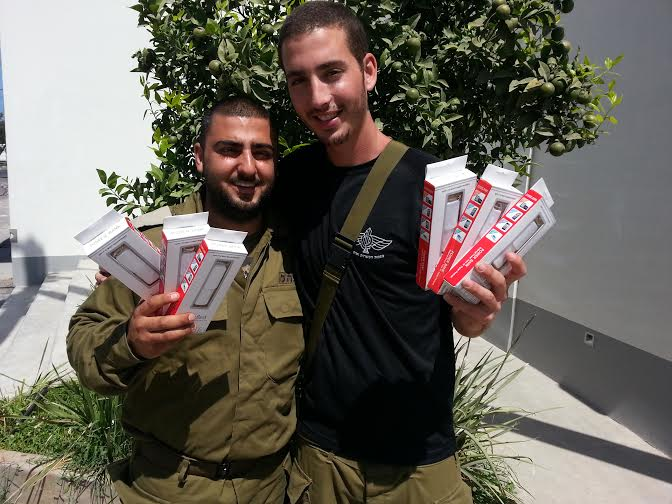 IDF Combat Soldiers Provided 'Power' To Call Home to Concerned Family and Friends