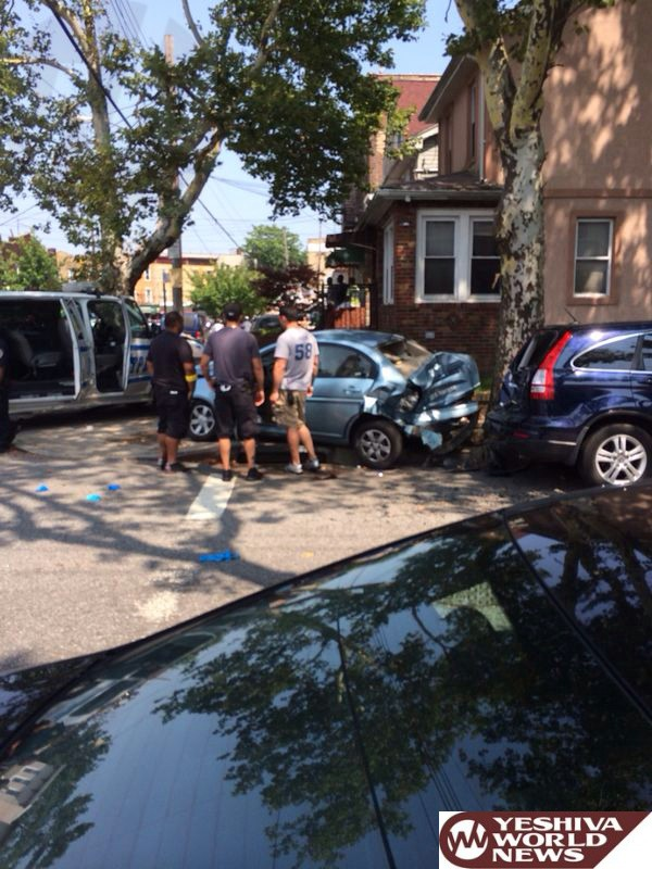 Flatbush Shomrim Get Purse Snatchers off Community Streets