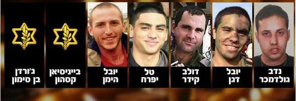 Names of Six Additional IDF Fallen Cleared for Release