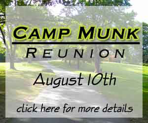 Camp Munk Reunion Banner for The Yeshiva World