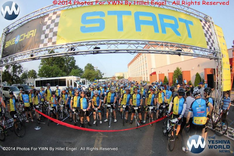 VIDEO & PHOTOS: 335 Riders On Route To Camp Simcha With Bike4Chai - Over $4 Million Raised For Sick Children