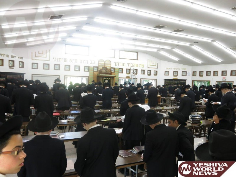 PHOTOS: Atzeres Tefilah in Camp Ohr Shrage For The Matzav In Eretz Yisroel (Photos By JDN)