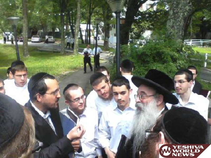 PHOTOS: Vyelipoel Rebbe Visits Camp Vyelipoel (Photos By JDN)