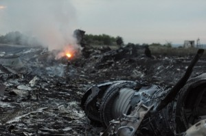 Investigators Reach Ukraine Jet Wreckage Site