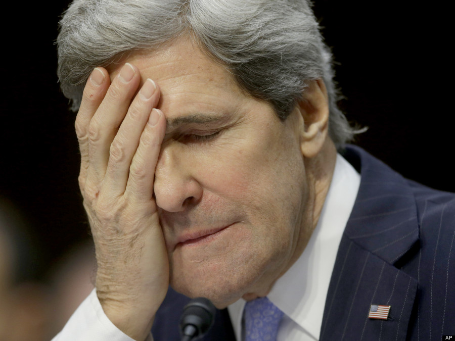 Kerry To IDF Soldier's Family at Funeral: 'How's Your Day?'