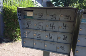 Swastikas Scrawled On Mailbox Near Jewish Fraternity At University Of Oregon