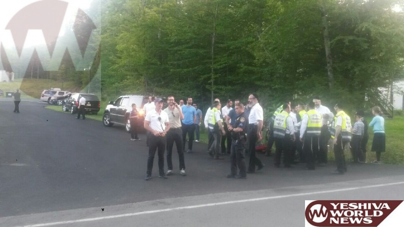 PHOTOS: Oxygen Tank Explodes In Catskills Hatzolah Garage Forcing Evacuations During Dispatching