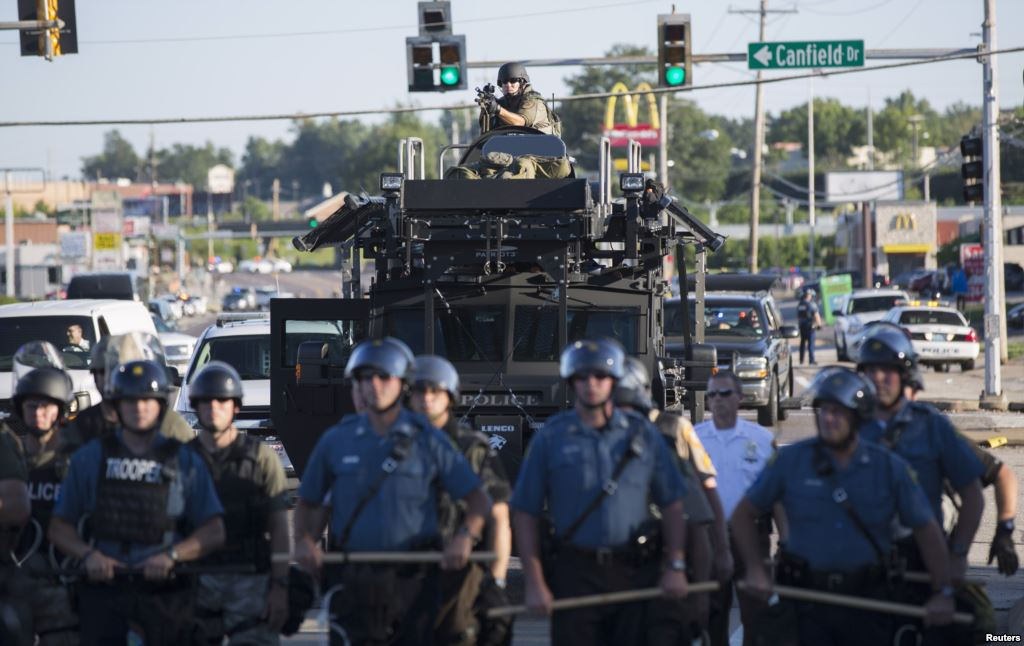 If Ferguson Dissolves Police Department, Who Would Step In?