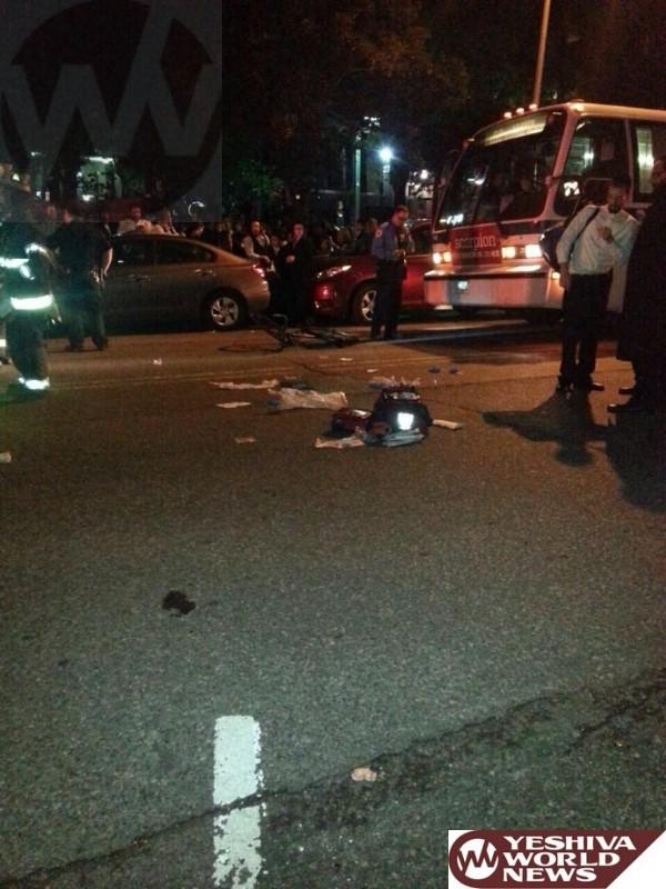 Person Struck, Injured By Bus In Williamsburg, Brooklyn