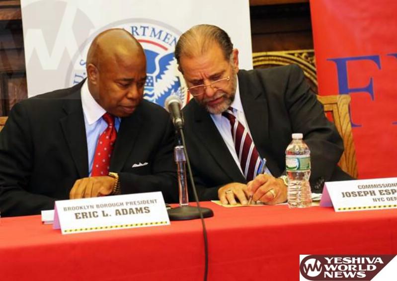 Brooklyn: BP Adams Hosts Emergency Preparedness Forum To Prepare Brooklynites For Future Disaster Scenarios