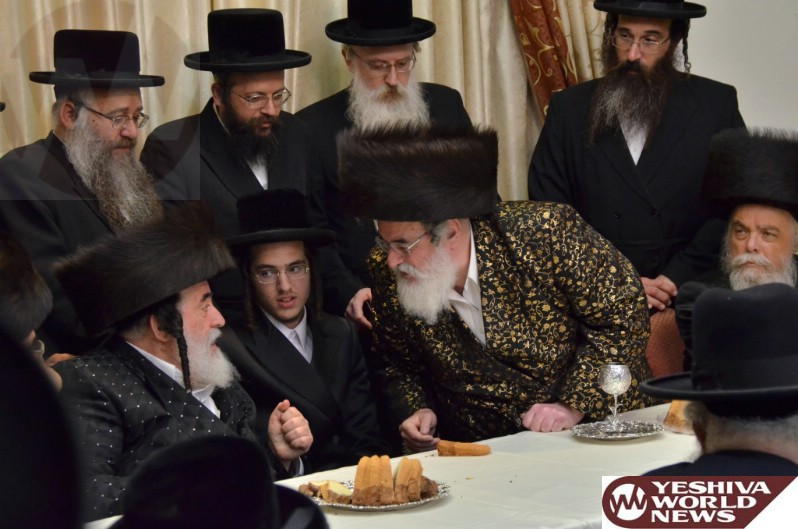Photo Essay: Tenoim For Great-Granddaughter Of Visnitz Rebbe (Photos By Shia Fruchter - JDN)