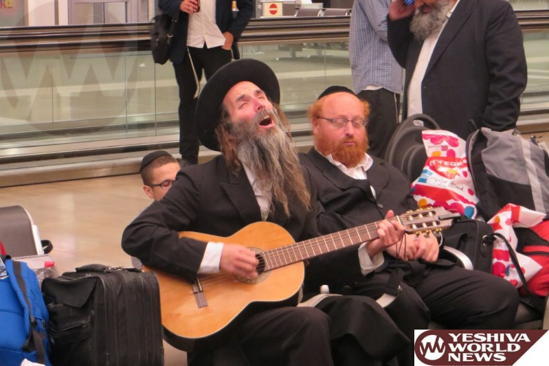 Photo Essay: Thousands Start Arriving In Uman For Rosh Hashanah (Photos By News 24 - Shlomo Meyer)