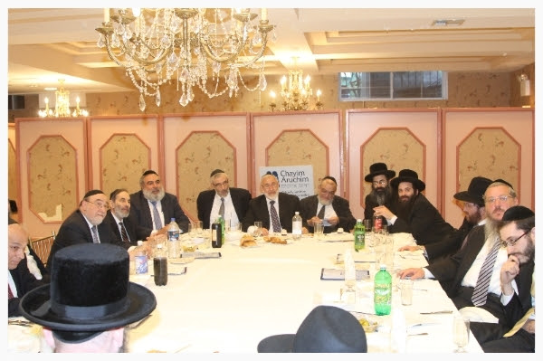 Chayim Aruchim Hosts Annual Meeting of Rabbis, Doctors, Lawyers and Activists