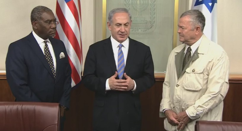 VIDEO: PM Netanyahu Meets with US Rep. Dana Rohrabacher & US Rep. Gregory Meeks