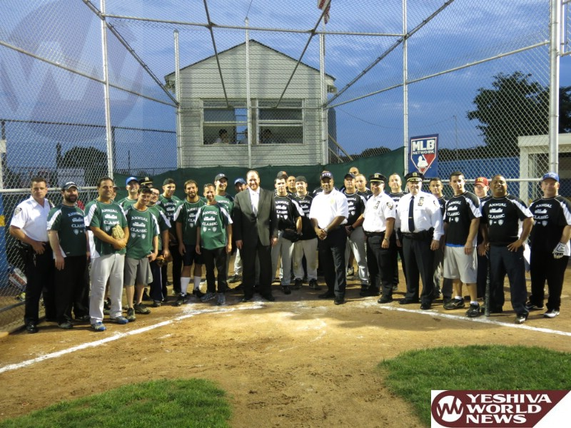 Tonight! Boro Park Shomrim Plays Against NYPD's 66 Precinct in FREE Community Softball Game