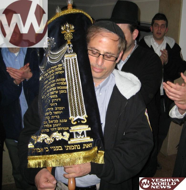 This Sunday: Hachnosas Sefer Torah Lizecher Nishmas R' Shlomo Zakheim Z