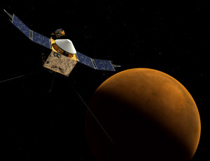 NASA's Maven Explorer Arrives At Mars One Year After Blasting Off From Earth
