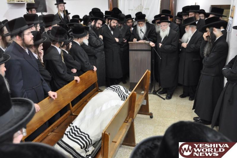 Photo Essay: Levaya Of The Radvil Rebbe From Monsey In Bnei Brak (Photos By JDN)