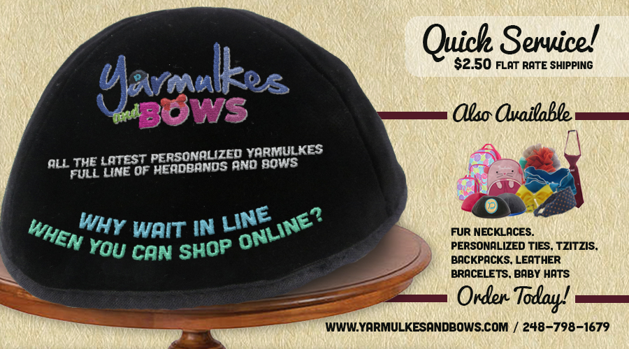 Yarmulkesandbows.com – YWN Exclusive 10% off