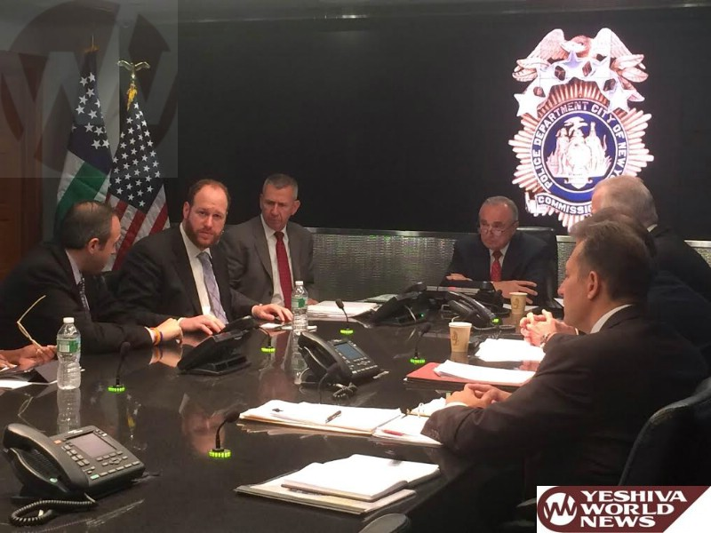 NYC Council Members Meet With NYPD Commissioner Bratton To Combat Rise In Anti-Semitic Crimes
