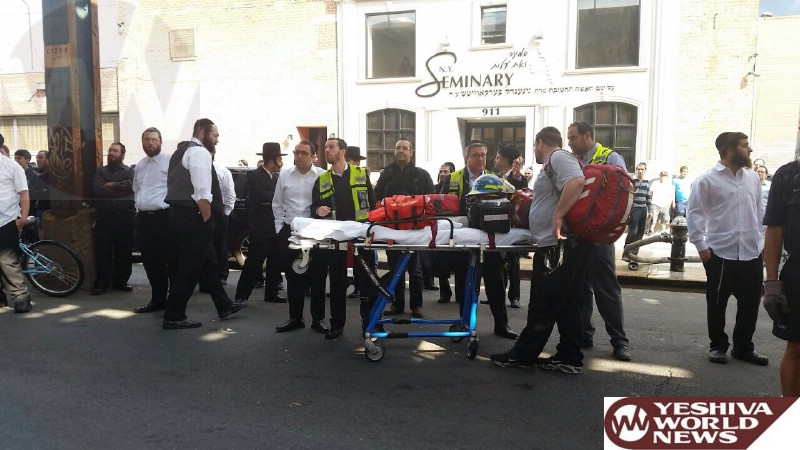 PHOTOS: Boro Park: Person Severely Burned By Fire On McDonald Ave And 18th Ave