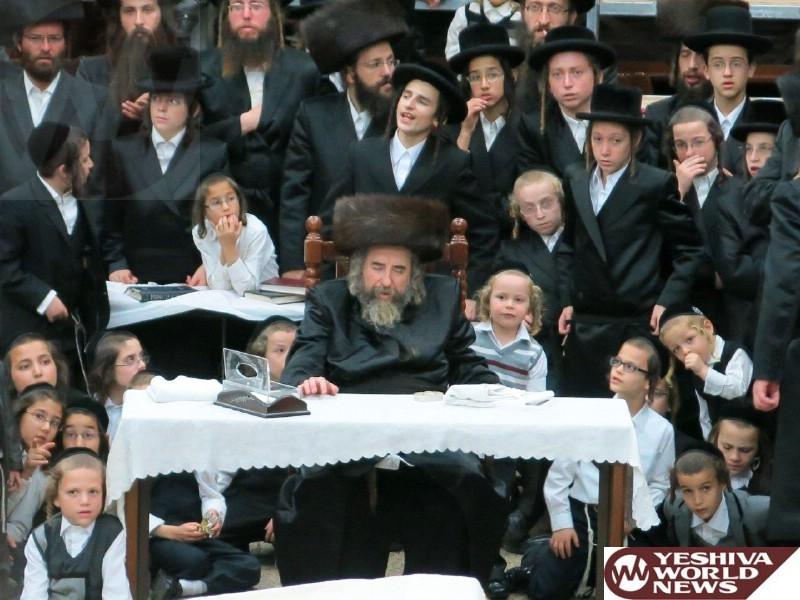 Photo Essay: Rachmastrivka Rebbe In Eretz Yisroel - Sukkos 5775 (Photos By JDN)