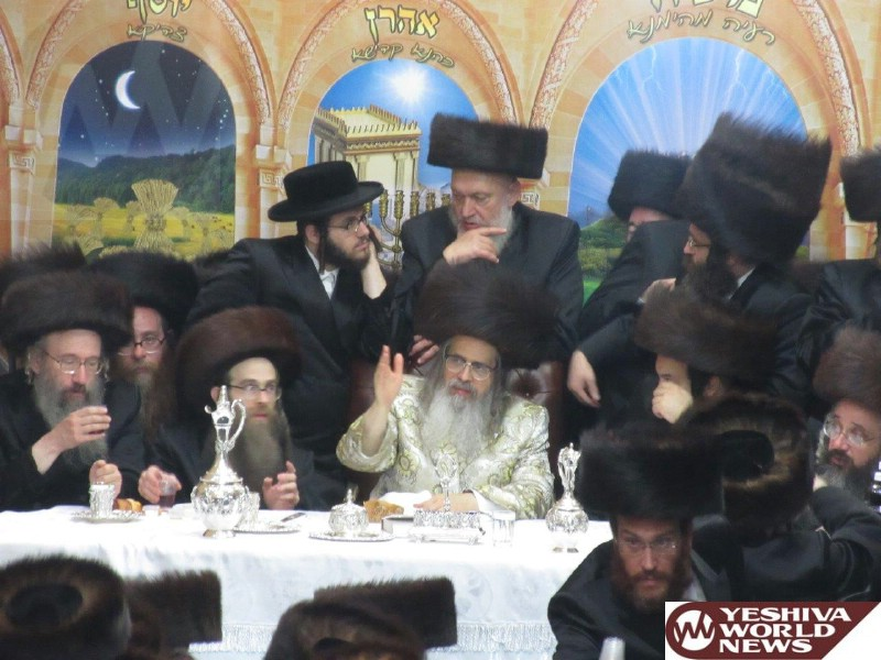 Photo Essay: Satmar Rebbe Of Williamsburg Visits His New Bais Medrash In Boro Park On Sukkos 5775 (Photos By JDN)