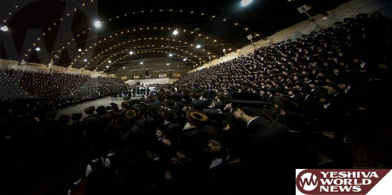 Photo Essay: Thousands Attend Wedding Of Granddaughter Of Satmar Rebbe Of Williamsburg This Past Sunday Night (Photos By JDN)