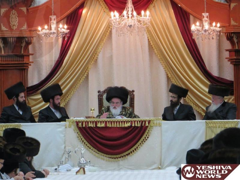 Photo Essay: Vishnitz Rebbe Sukkos 5775 (Photos By JDN)