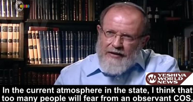 VIDEO: Rav Eli Sadan: Too Soon for a Frum IDF Chief or PM