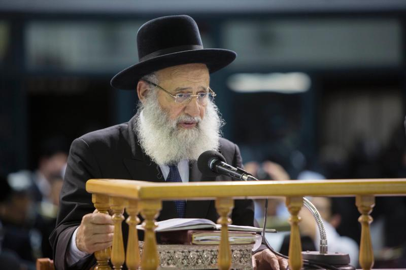 Rav Elbaz May Remain Out of the Elections