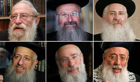 THE FINAL LIST: Some Rabbonim Withdraw from Jerusalem Chief Rabbinate Race
