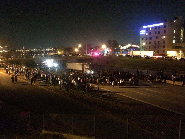 St. Louis: Protesters Shut Down Interstate 44 In Both Directions