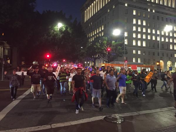 Ferguson Fallout: Scores Arrested In California Unrest