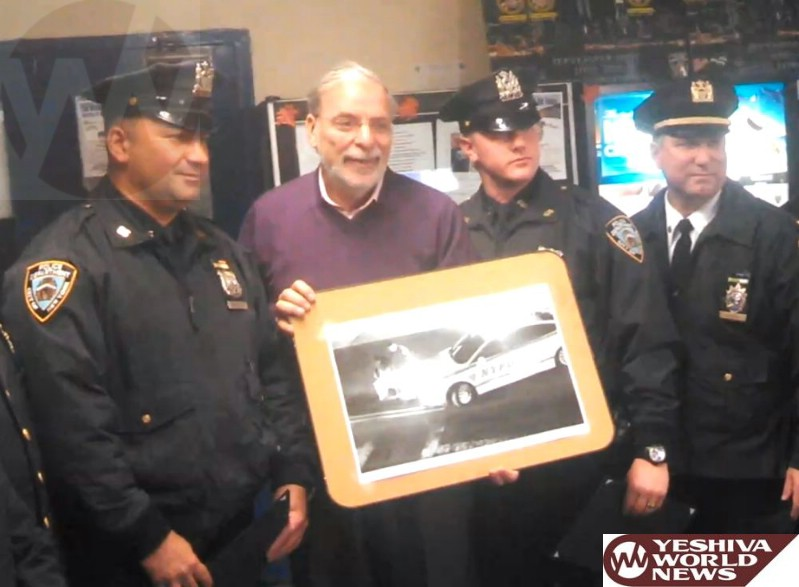 Policemen From NYPD 66 Pct Receive Citation From Hikind