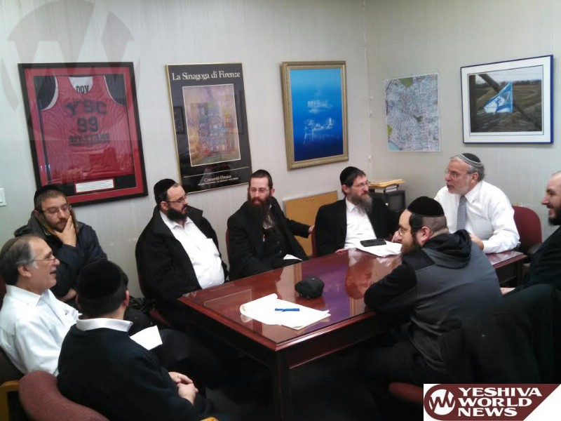 Hikind Hosts Yeshiva Bus Managers Meeting; Works To Eliminate Early A.M. Sanitation Runs