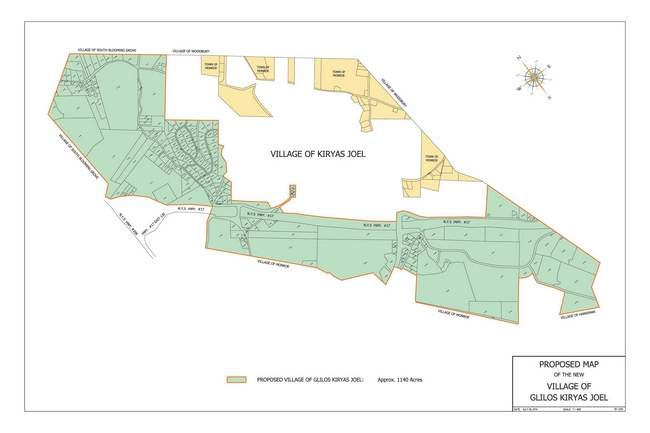 Kiryas Joel May Propose New Village