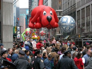 NYC Closes Streets For Thanksgiving Parade