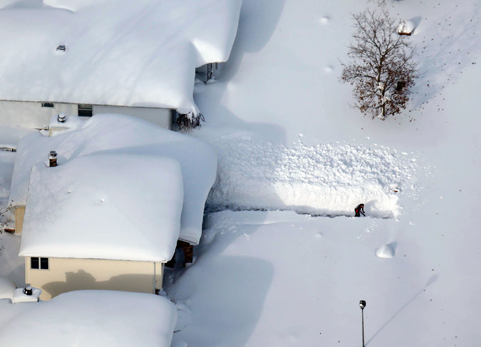 Buffalo Residents Urged to Prepare for Flooding Following Massive Snowstorm That Left 7 Feet Of Snow On The Ground