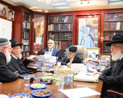 Tekuma Rabbonim Express Their Support for Eli Yishai