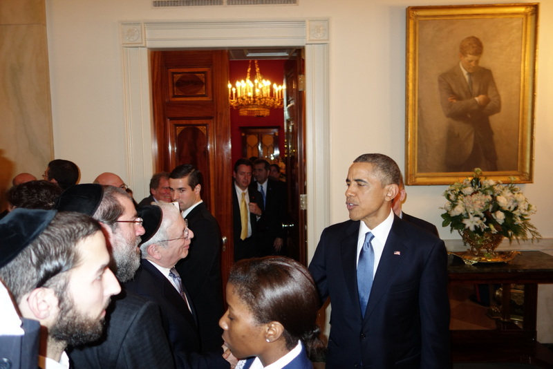 WATCH: YWN Captures Chanukah Party at The White House - VIDEO