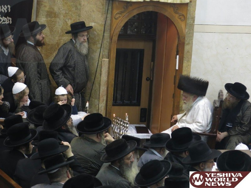 Photo Essay: First Night Of Chanukah 5775 By The Toldos Aharon Rebbe (Photos By JDN)