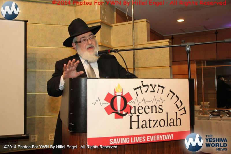 Photo Essay: Queens Hatzolah Annual Chanukah Mesiba 2014 (Photos By Hillel Engel)